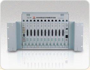 2xE1 multiplexer, šasi 13 stotů pro karty data/hlas