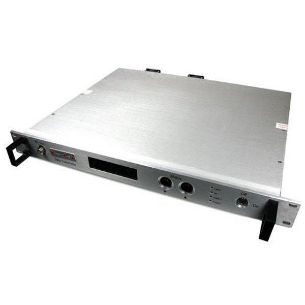 Optický vysílač pro CATV, 1550nm, 1x optický výstup, 10dBm, 5km, přímá modulace, AGC