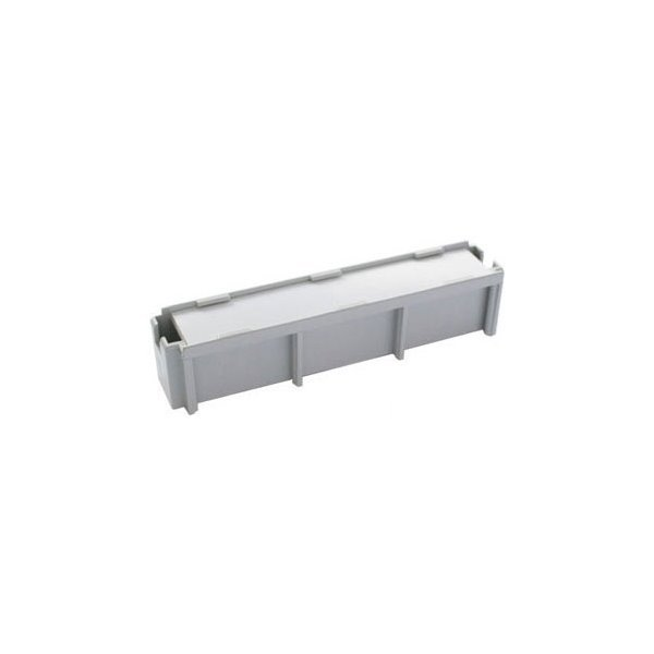 Prázdný modul/záslepka 10p, bez profilu, instaluje se vedle modulů a slouží jako nosič popisky