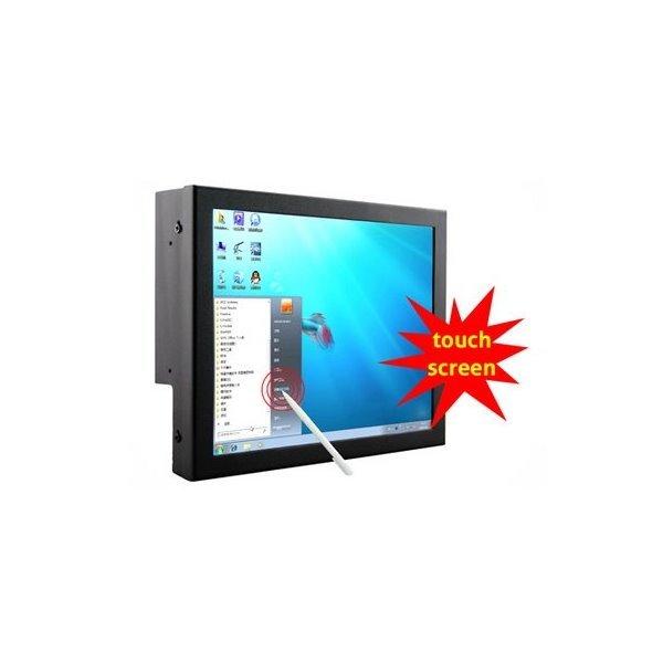"""10"""" TFT touch monitor, VGA, DVI, 2x A/V, 800x600"""