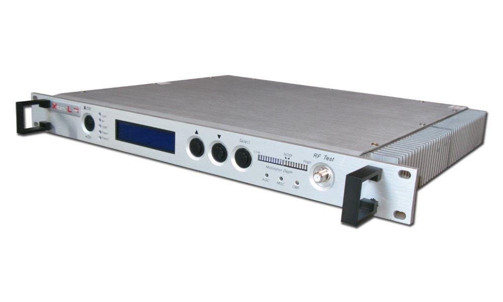 Optický vysílač pro CATV, 1550nm, 1x optický výstup, 3dBm, 5km, přímá modulace, AGC