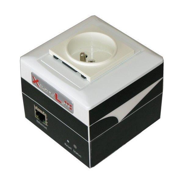 """ČSN 230V """"IP zásuvka"""", IP watchdog, scheduler, elektroměr, teploměr, HTTPS/CGI, oládání z smartphonů"""