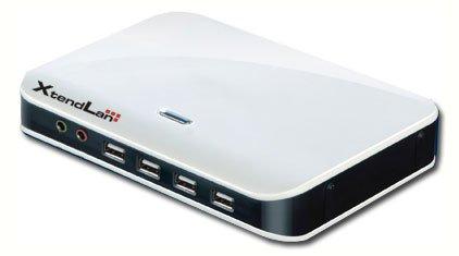 Tenký klient pro VDI (virtuální desktop), 1x DVI, LAN, 4x USB, fanless, audio in/out, 5W - DOPRODEJ