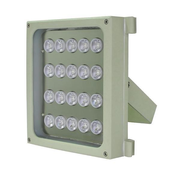 Infra osvětlení, 850nm, 250-350m, venkovní, 12V DC, úhel 15 st, 46W, IP66