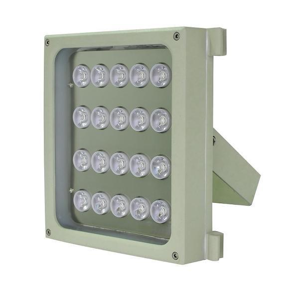 Infra osvětlení, 850nm, 100-160m, venkovní, 12V DC, úhel 60 st, 46W, IP66