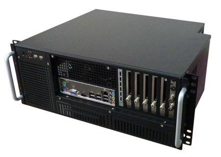 "DVB/IP streamer s výstupem na DVB-T, 10x DVB-S/S2, 6x CI slot, DVB-T modulator 4x mux , 19"" 4U"
