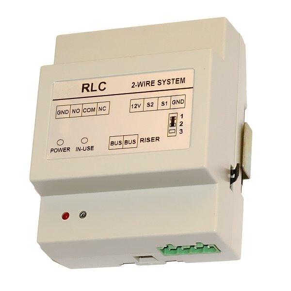 Modul ovládání 1 spínače (2.zámku) z dotykového monitoru (přes UNLOCK) či světlo, 1x relé 300VAC/DC