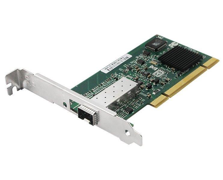 PCI síťová karta, 1Gbps, SFP, Intel Pro/1000 (Intel 82545EB) , low profile