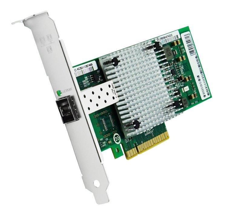 PCI-E síťová karta, 1x 10Gbps SFP+, Intel 82599EN, PCI-E x8