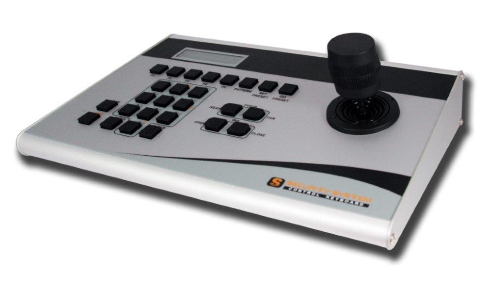 Planet CAM-KB300, 3D-ovládací klávesnice s joystickem, RS-485, PELCO