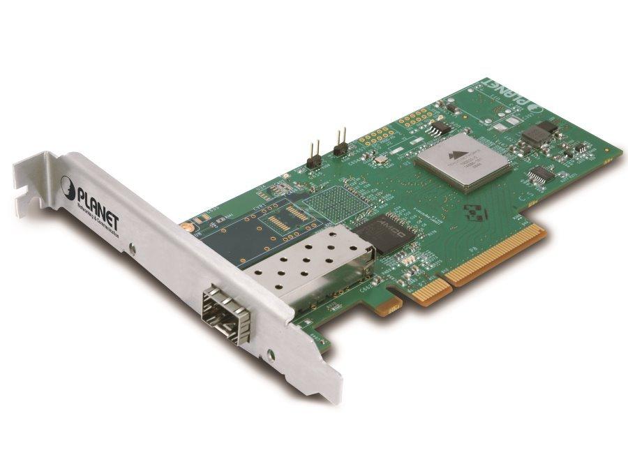 PLANET ENW-9801 PCI-E síťová karta, 1x 10Gbps SFP+, RSS