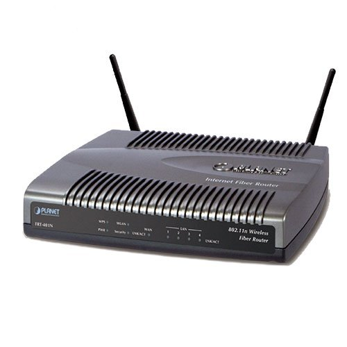 Planet FRT-401N, FTTH Ethernet router 1x 100Base-FX SC multimode WAN, 4x LAN, WiFi 802.11n,WISP - Doprodej
