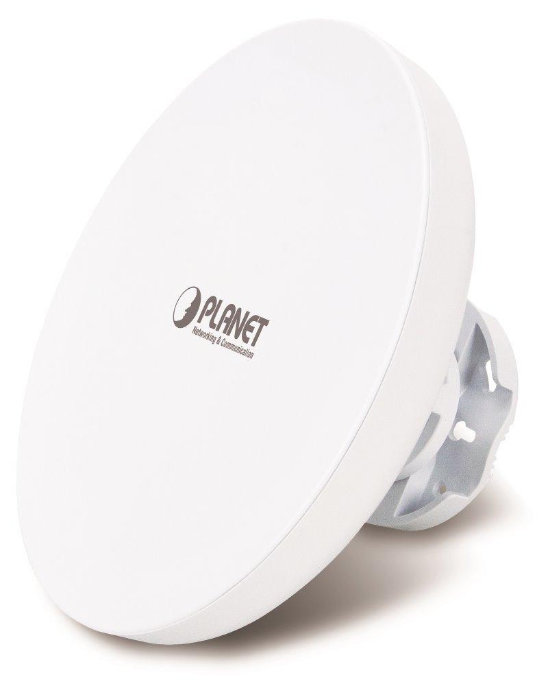 Planet WBS-502AC venkovní AP/router,5GHz, 802.11ac, 867Mbps, firewall,120 klientů, 19dBi antény, SNMP, IP55