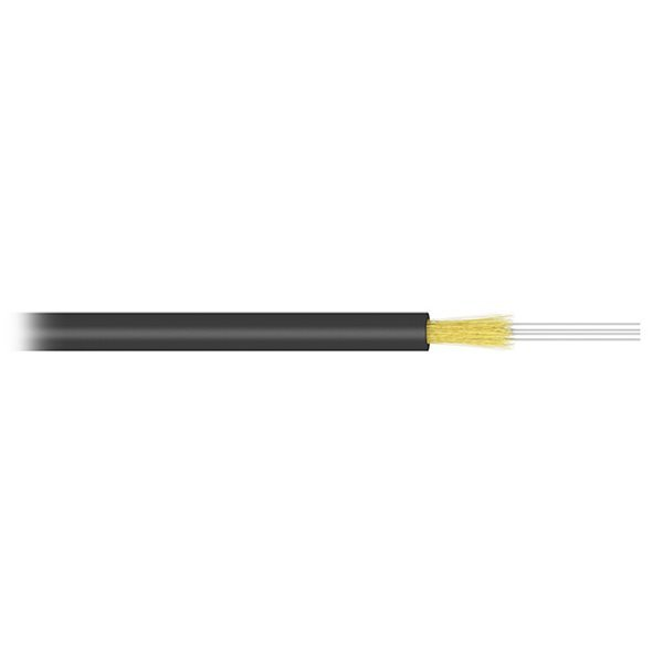 FO kabel, 9/125, 24c, J/A-(ZN)H, FTTx DROP,G657A, LSOH, 4mm, KDP