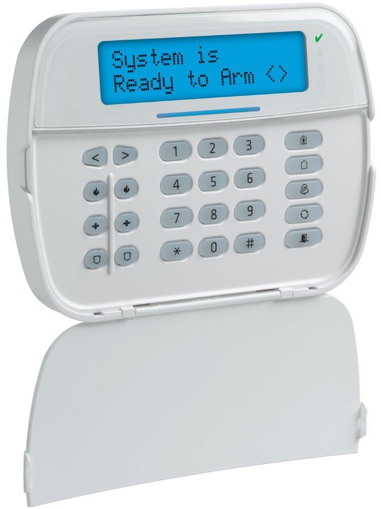 Bezdrátová LCD klávesnice