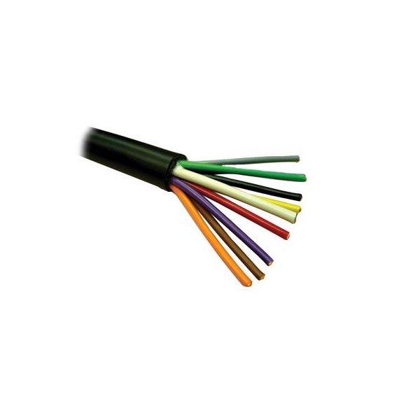 Kabel ovládací, 9x 0,8mm2, PVC+PE izolace, pro přímé uložení do země, 152m balení