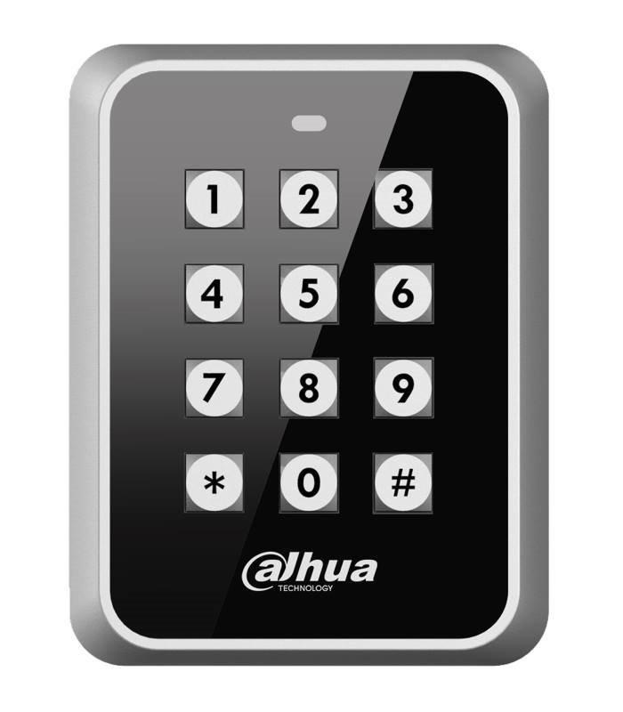 Kódová klávesnice s RFID čtečkou - 13,56MHz, Wiegand, kovová antivandal IK08