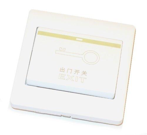 Odchodové tlačítko, plastové provedení