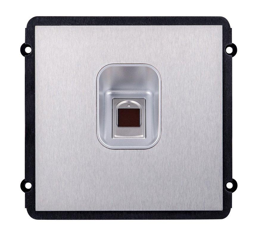 Modulární IP dveřní stanice, modul se čtečkou otisku prstu, nerez