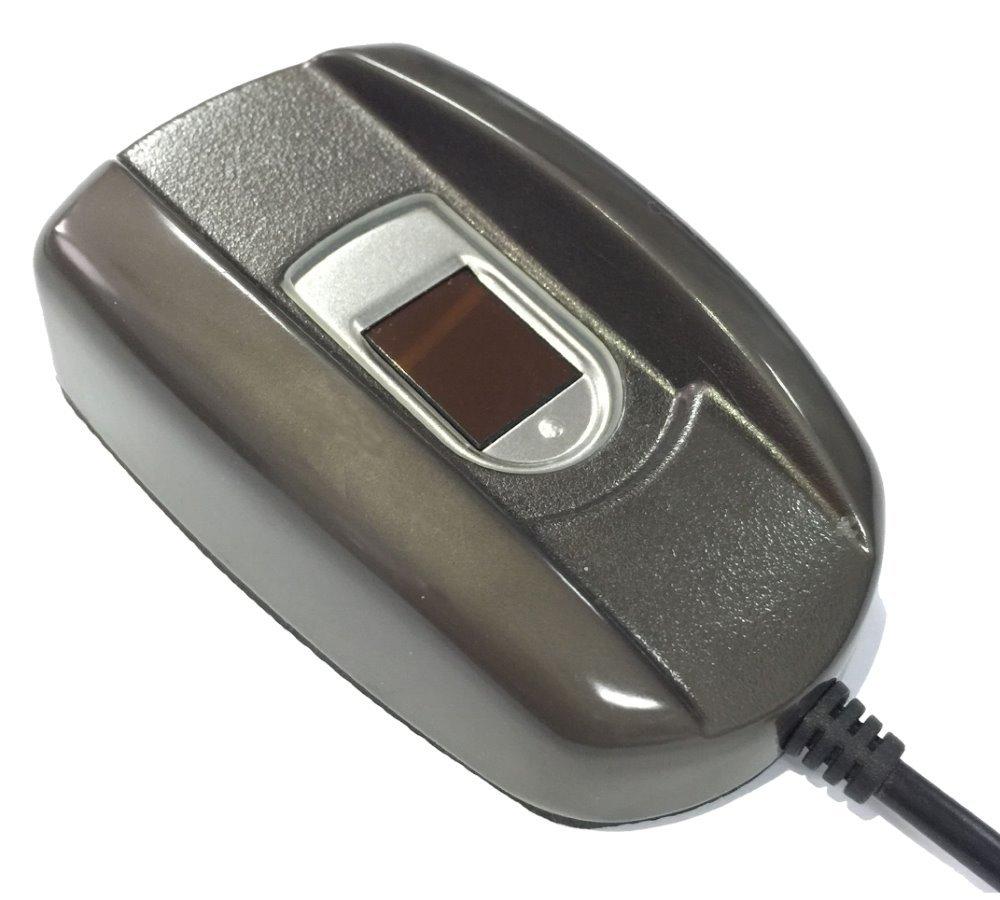 čtečka otisků prstů, spojení přes USB k software smartPSS