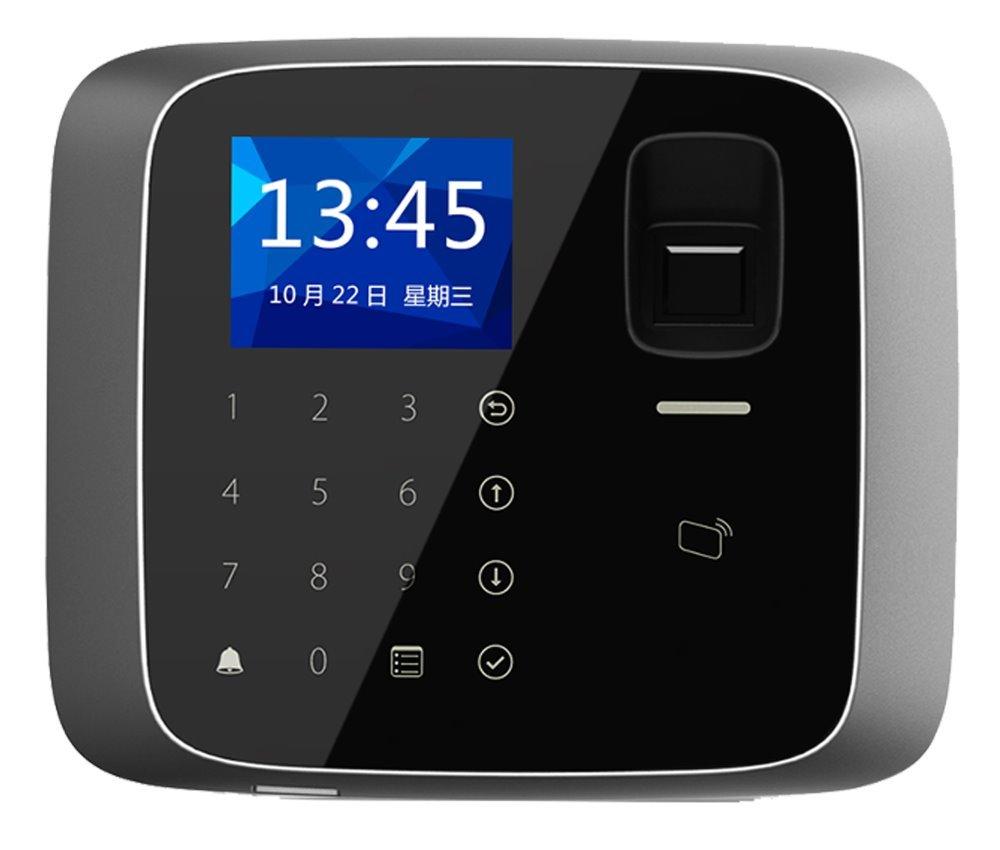 Autonomní dotyková kódová klávesnice s RFID čtečkou 13,56MHz a čtečkou otisků prstů, IP55, TCP/IP