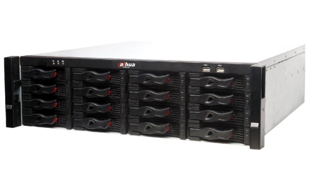 DAHUA NVR Ultra 128xIP/ 12Mpix/ 384Mbps/ H.265+/ 16xHDD RAID/ 1xMiniSAS/ 2x 4K-HDMI/ 4xLAN/ analytiky/ SPZ/ POS/ dewarp