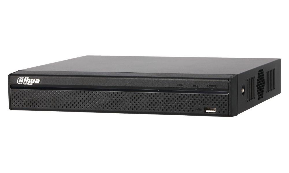 DAHUA NVR Smart  4xIP/ 8Mpix/ 80Mbps/ H.265+/ 1xHDD/ 4K-HDMI/ 1xLAN/ analytiky