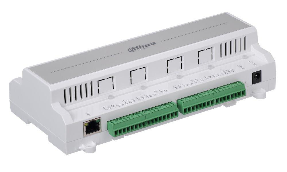 Kontroler pro 4  RS-485 / Wiegand čtečky (RFID, key, otisk prstů) - TCP/IP, RS-485
