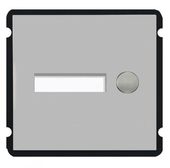 Modulární IP dveřní stanice, modul 1x zvonek, nerez