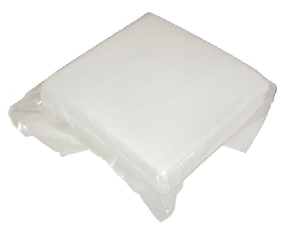 Čistící papír,suchý. Papír+polyester, 10x10cm, vysoká absorbce, nepoškrábe povrh, 100ks