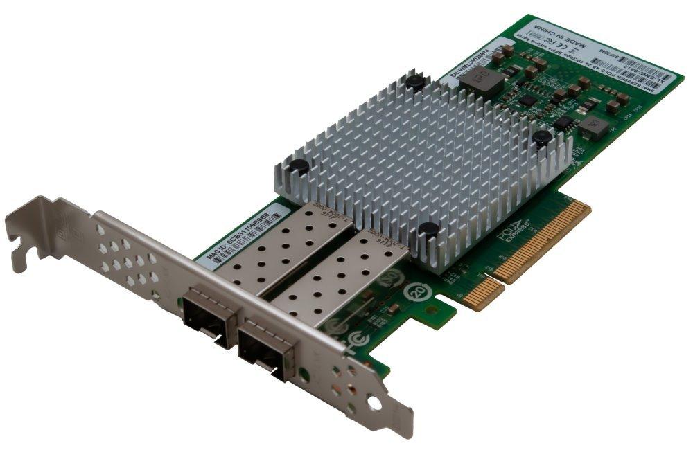 PCI-E síťová karta, 2x 10Gbps SFP+, Intel 82599ES, PCI-E x8