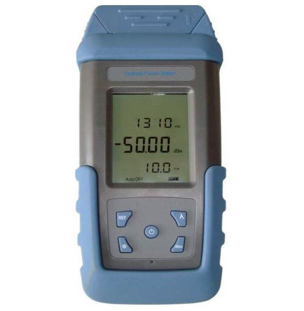 Optický měřič výkonu, SM/MM, +/-5%, rozsah: -70dBm až + 3dBm, FC/ST/SC/LC