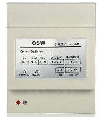 Distributor, umožňuje připojit až 3 CCTV kamery k DPM-473T