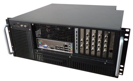 "DVB/IP streamer, 16x DVB-S/S2, 19"" 4U"