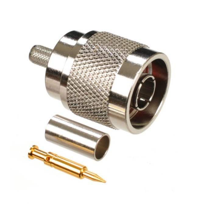 Konektor N(M) RG58 krimpovací (LMR195/RG58) XL