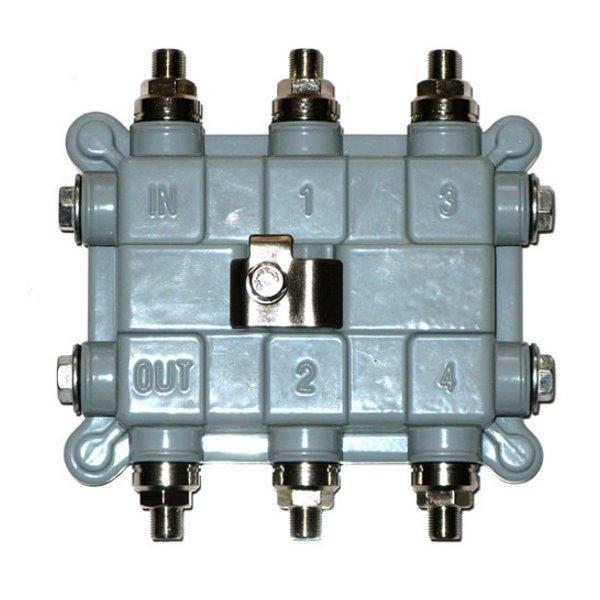 Odbočovač pro EoC 7-65MHz,dovoluje sloučení/oddělení datového pásma, s přenosem napětí do 60V