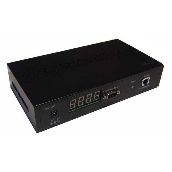 ESZ-162 senzory na ethernet, 16x vstupů,  2x teplotní, detekce 3/5/12V, HTTP/CGI, SNMP