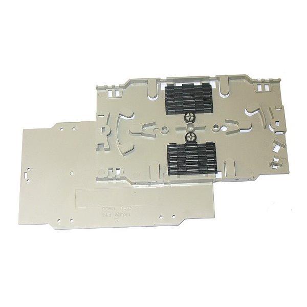XtendLan plastová kazeta s pro uchycení 12 svarů průměru 2mm, svary vedle sebe
