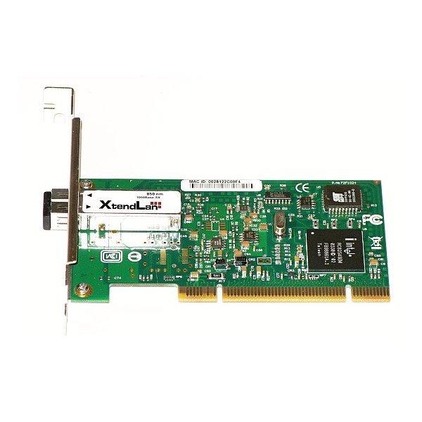 PCI síťová karta, 1Gbps, 1000Base-SX, LC konektor, Intel Pro/1000 (Intel 82545EB) , low profile