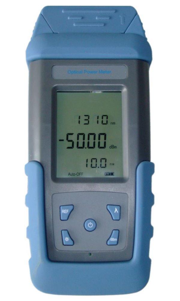 Optický měřič výkonu, SM/MM, +/-5%, rozsah: -70dBm až +10dBm, VFL, FC/ST/SC/LC