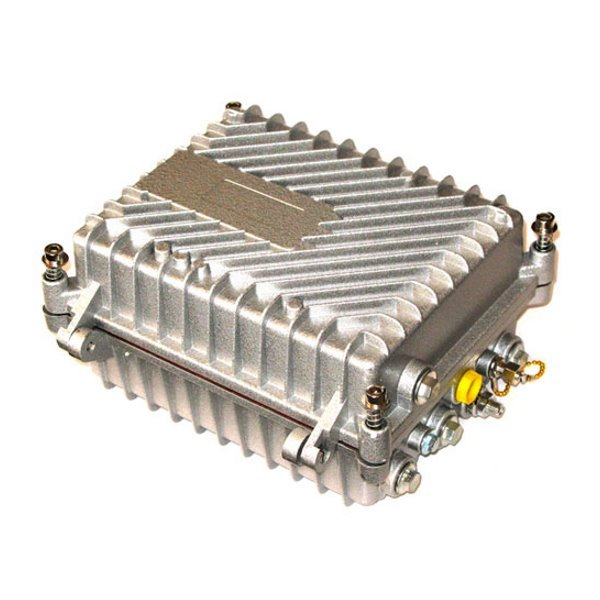 EoC bridge master 350Mbps  + CATV optický přijímač + GEPON ONU + WDM triplexer, vodotěsný, 1x RF out