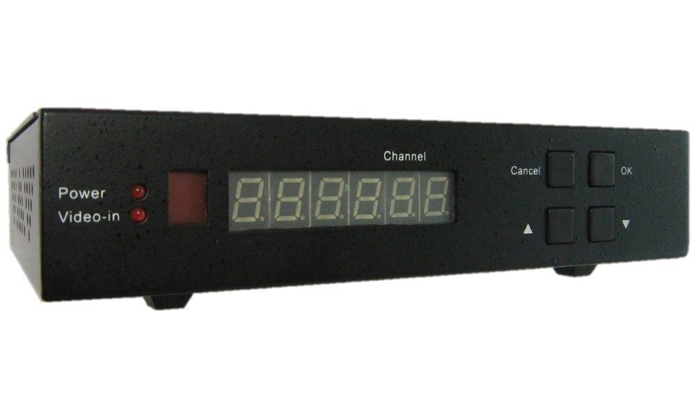 DVB-T modulátor, HD, vstup HD-SDI,HDMI, LAN, výstup 1x RF 50MHz-960MHz, MER 35dB