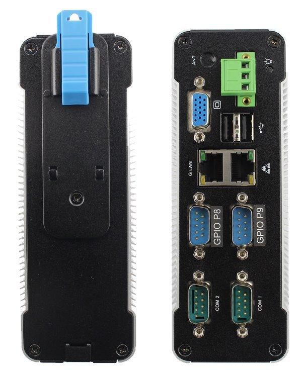 miniPC, 933MHz, 2GB DDR2, Vortex86DX2, 1x interní SD, 1x COM, 1xRS-485, 2x GPIO, 2x LAN - DOPRODEJ