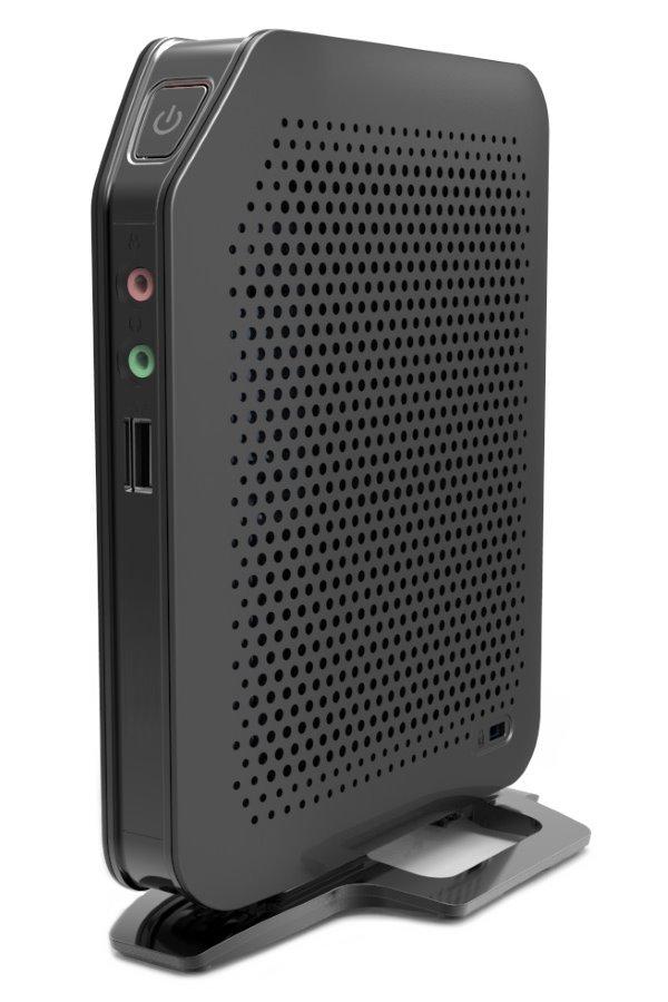 Tenký klient Celeron J1800 2x 2,4GHz, 2GB DDR3, 8GB mSATA SSD, DVI-I+DP,1x LAN,6x USB, fanless