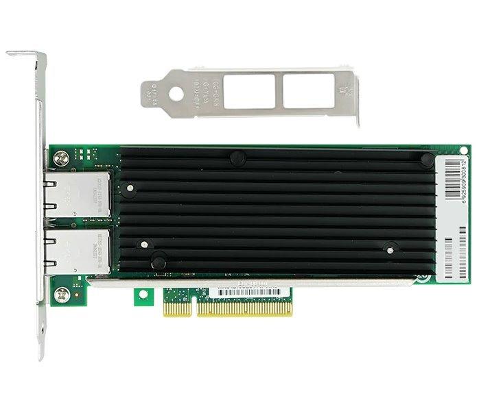 PCI-E síťová karta, 2x 10Gbps RJ-45, Intel X540, PCI-E x8