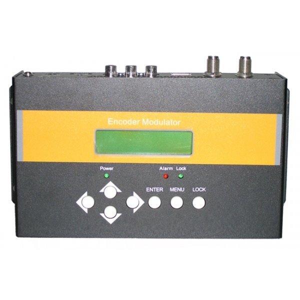 DVB-T modulátor, HD, vstup 1x HDMI, 1x CVBS, výstup 1x RF 142MHz-858MHz, MER 31dB, +6dBm, H.264