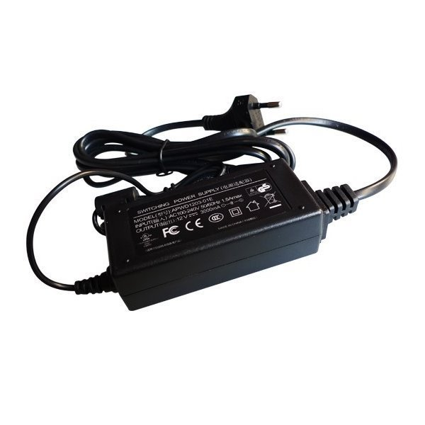 Zdroj 100-240 VAC/50-60Hz, výstup 12V/4A DC, jack 5.5/2.1mm, adaptér