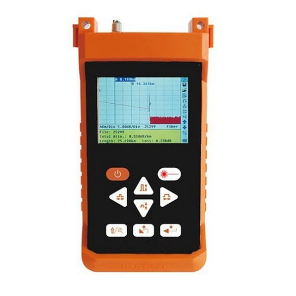 OTDRHD-24VC, ruční OTDR, 1310/1550nm, singlemode, 24/24dB, barevný displej, USB