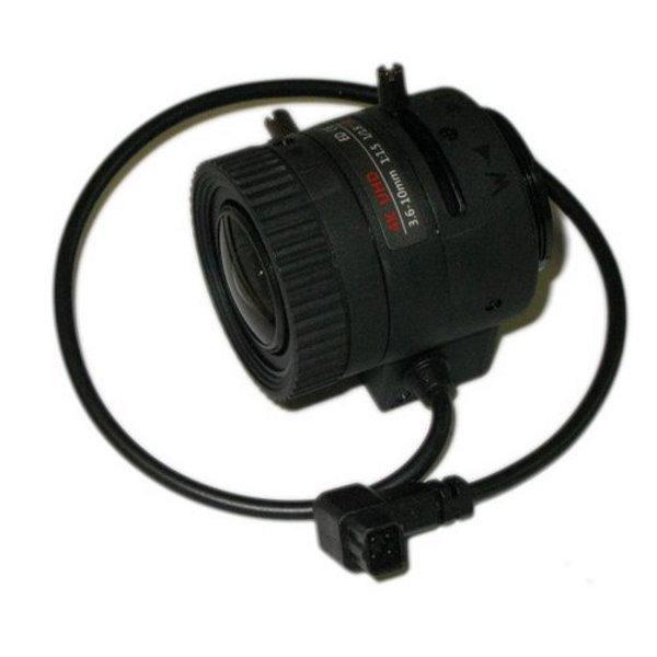 """Objektiv 1/1,8"""",Vari-focal, DC Drive,3.6-10mm, CS-mount, IR přizpůsobení, 8Mpix"""