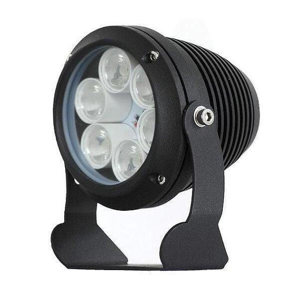 Infra osvětlení, 850nm, 25~35m, venkovní, 12V DC, úhel 60 st,12W, černá